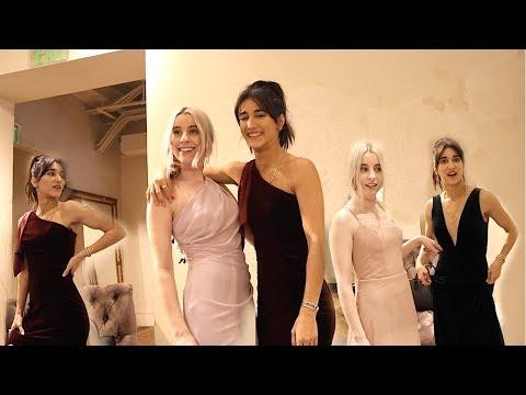 CHOOSING BRIDESMAIDS DRESSES FOR HER WEDDING!!
