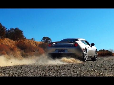 Lotus Evora with Awesome Sound Test Drive