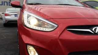 preview picture of video 'Elyria Hyundai: Accent LED lights'