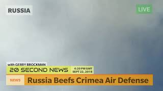 Russia Beefs Crimea Air Defense - Breaking NEWS Today