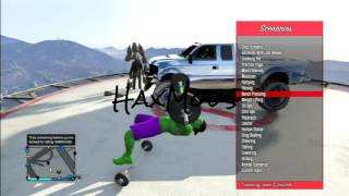 GTA 5  MOD MENU FREE  + Dowload No  Need For Jailbreak Ps3 , Pc , Xbox360 , XboxOne