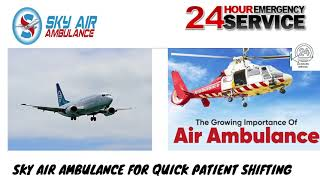 Pick Finest Air Ambulance Service in Imphal