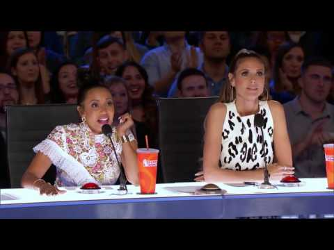 Just Jerk With Their Perfect Timing Performance   Week 4   America's Got Talent 2017 (видео)
