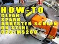 How -To Clean Spark Arrester Screen On Stihl 026/MS260 Chainsaw
