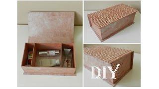 DIY: Aufbewahrungsbox mit Eierschalen / storage box with egg shells