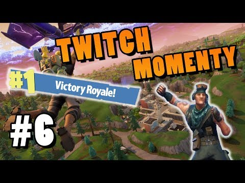 Twitch Momenty #6│Fortnite: Battle Royale