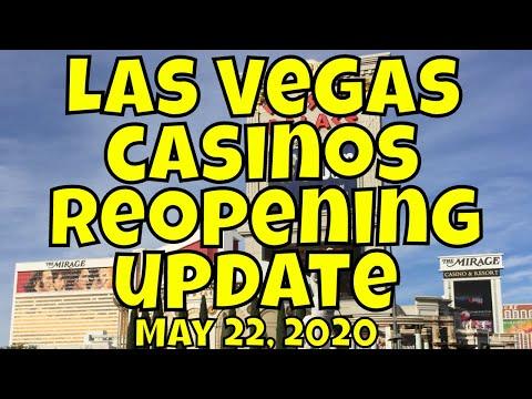 Las Vegas Casinos Reopening Update for May 22, 2020