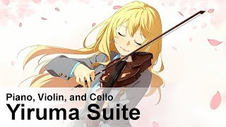 Yiruma Suite (River Flows In You, Kiss The Rain)   Ghibli Piano, Violin, And Cello