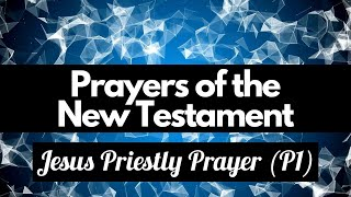 3. Jesus: Priestly Prayer Part 1