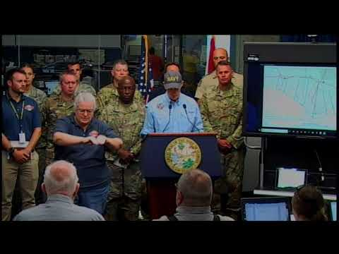 "Gov. Rick Scott says people from Florida's Panhandle to the Big Bend woke up to ""unimaginable destruction.""  He says ""this hurricane was an absolute monster."" (Oct. 11)"