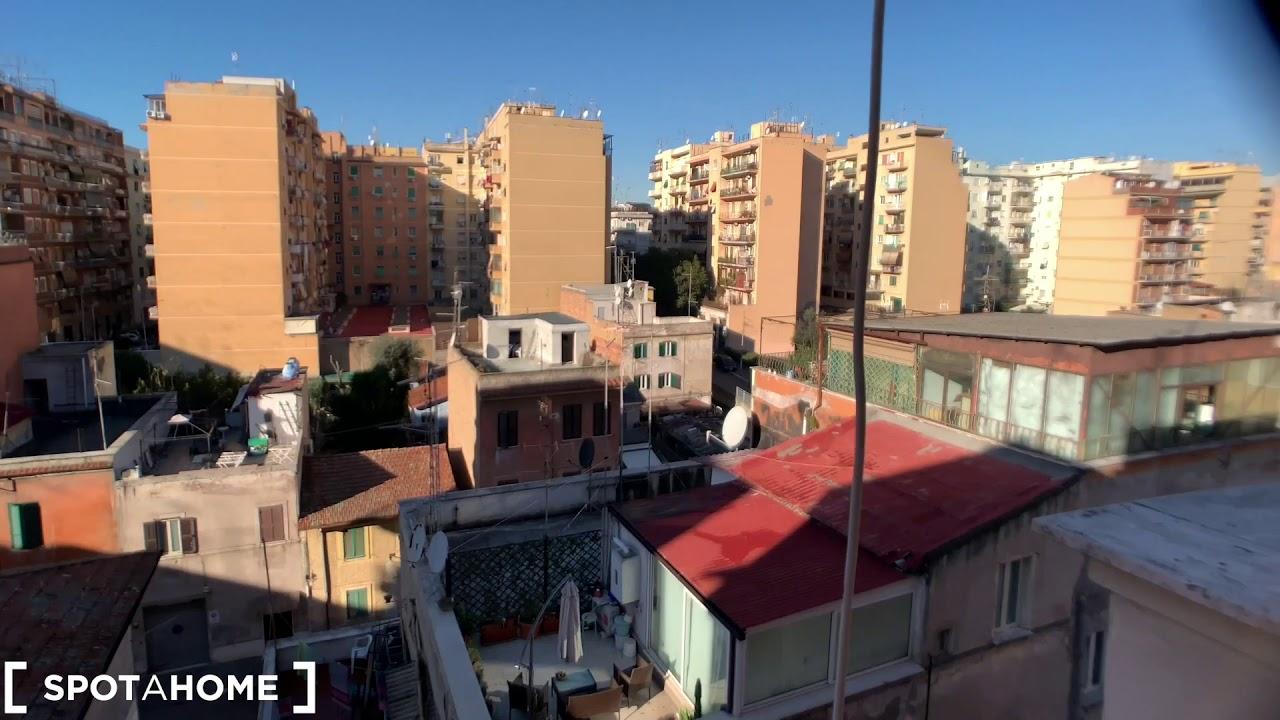 Classic 1-bedroom apartment for rent in Pigneto