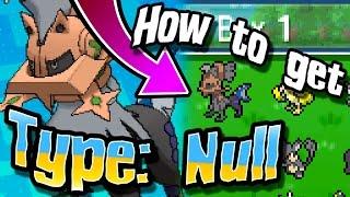 Type: Null  - (Pokémon) - Pokémon Sun & Moon - How To Get Type: Null