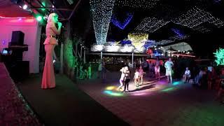 Вечерние танцы с оставшемся отдыхающими на 31 августа 2018