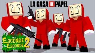 Minecraft: LA CASA DE PAPEL! (Esconde-Esconde 2)