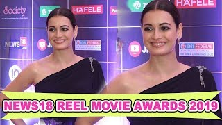 Dia Mirza At Other Bollywood Celebs Attend News18 Reel Movie Awards 2019 #Light.CameraTV