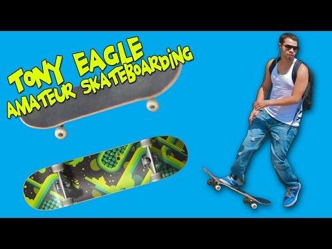 ♣ Indie Games   Tony Eagle Amateur Skateboarding