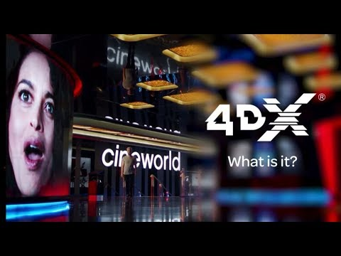 4DX at Cineworld - How does it work?
