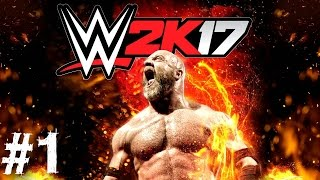 WWE 2K17 Gameplay Walkthrough Part 1 My Career Mode Universe Review Xbox One PS4 Xbox 360 PS3