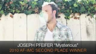 """2010 AF-IMC WINNER SAMPLER: JOSEPH PFEIFER """"MYSTERIOUS"""""""
