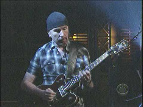 U2 - Magnificent (Live - Night 2 - Letterman)