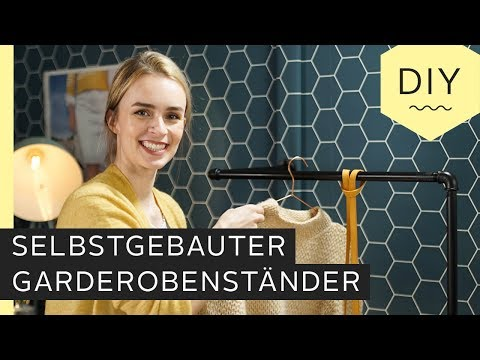DIY: Selbstgebauter Garderobenständer - Anleitung zum selber machen | Roombeez – powered by OTTO