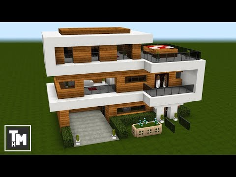 . Minecraft  How To Build a Modern House   Mansion Tutorial  Easy