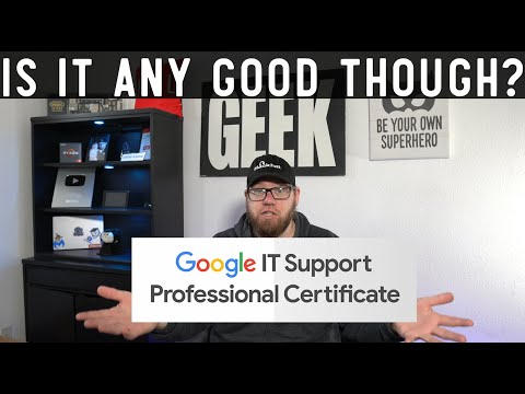 Google IT Support Professional Certification - Is it Worth it? - YouTube