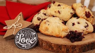 3 Holiday Scone Recipes   Made with Love