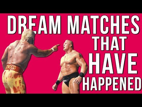 10 Dream Wrestling Matches YOU DIDN'T KNOW HAPPENED!