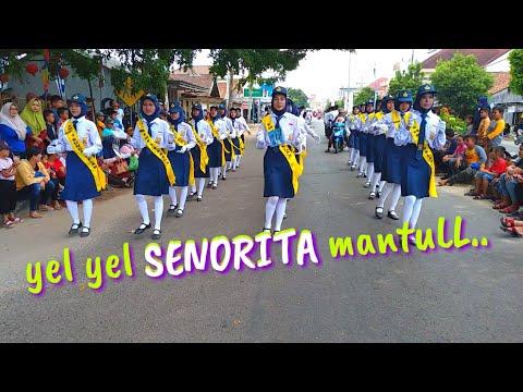 Mantap..!! yel yel Senorita.. (PBB Kabupaten Bangka tengah 2019