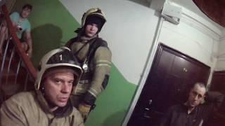 Как выезжают на вызов пожарные России - видео онлайн