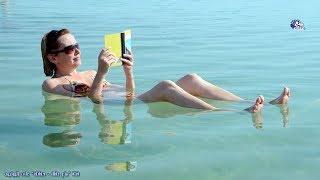 حقائق غريبة عن البحر الميت | اغرب بحار العالم حيث لا يمكنك الغرق ابداً !