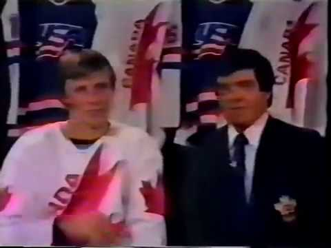 Mike Bossy Interview 1984 Canada Cup
