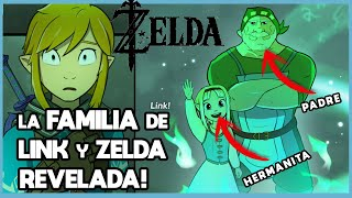 La Familia De LINK Y ZELDA Hasta Breath Of The Wild 2 | N Deluxe