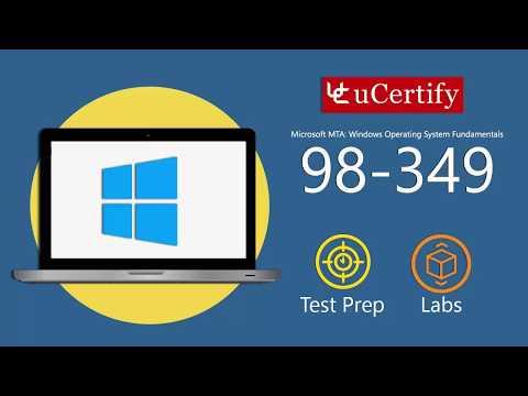 98-349-VT : MTA: Windows Operating System Fundamentals ...