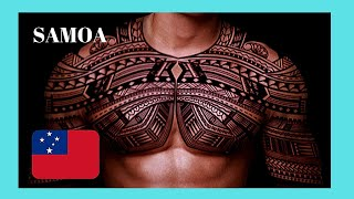 SAMOA: Getting A Tattoo 😲 From A Local Master In Apia (very Rare Video Footage)