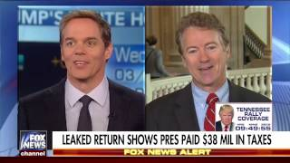 Time for Bernie Sanders to Pay his Fair Share in Taxes   Rand Paul on Donald Trump