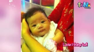 Video clip diễn viên Mai Phương làm cho con gái Lavie nhân dịp bé tròn 1 tuổi