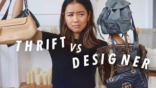 Thrift Purses Vs. Designer Handbags ... Worth It???