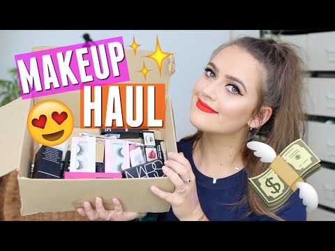 Huge Drugstore &  High end makeup haul | EmmasRectangle