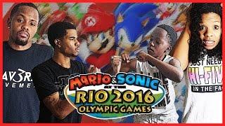 THE MAV3RIQ FAM OLYMPIC GAMES!! - Family Beatdown 12 Pt.3 I Mario & Sonic Olympics Gameplay