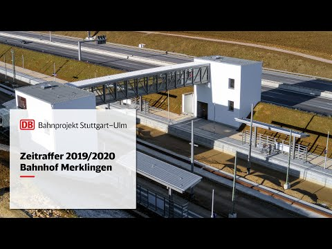 2019/2020 | Bahnhof Merklingen - Zeitrafferfilm