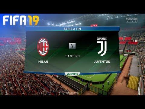 FIFA 19 - AC Milan vs. Juventus @ San Siro