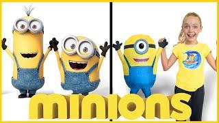 Minions Invasion with Jazzy Skye! Kids Fun TV