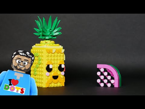 Vidéo LEGO Dots 41906 : Le pot à crayons Ananas