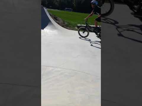 Gone Bmx at bar harbor skatepark
