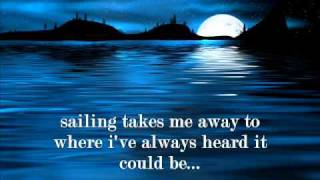sailing lyrics christopher cross