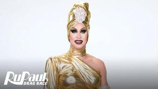 Brooke Lynn Hytes' 'Gold' Look Makeup Tutorial 💄   RuPaul's Drag Race Season 11