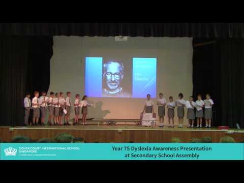 Dyslexia Awareness Assembly