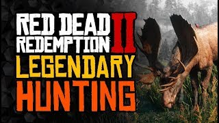 Guide For HUNTING And LEGENDARY Animals - Red Dead Redemption 2
